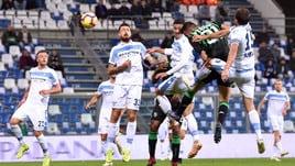 Serie A Sassuolo-Lazio 1-1, il tabellino