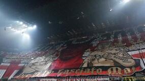 Milan-Juve, che spettacolo la coreografia di San Siro!