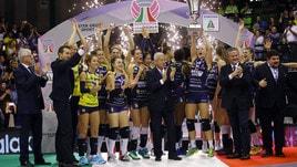 Volley: Supercoppa Femminile, il primo trofeo lo alza Conegliano