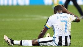 Serie A Udinese, Badu si è allenato a parte