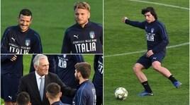 L'Italia abbraccia Tonali, il nuovo Pirlo. E a Coverciano c'è anche Gravina