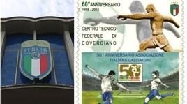 Coverciano compie 60 anni: stampato un francobollo celebrativo