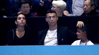 Atp Finals, Cristiano Ronaldo in tribuna a Londra per tifareDjokovic
