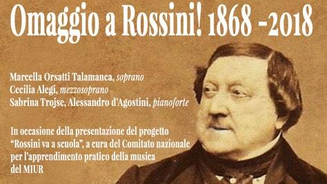 Teatro Palladium, omaggio a Rossini