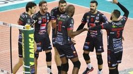 Volley: Superlega, Civitanova-Siena anticipano la sfida della 9a giornata