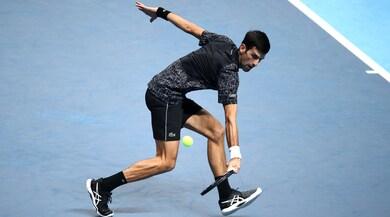 Tennis, Atp Finals: tutto facile per Djokovic