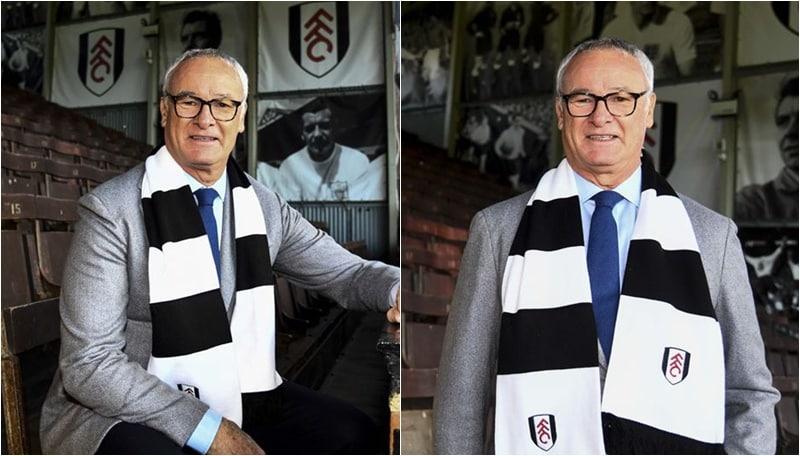 Ranieri riparte dal Fulham: presentazione da star