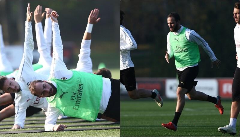 Sudore e sacrificio per Higuain: obiettivo, riprendersi il Milan