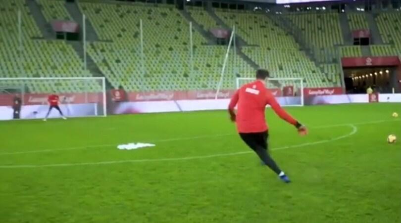 Juventus, Szczesny specialista delle punizioni:«CR7, ti ricambio il favore»