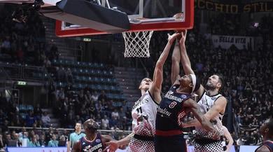 Basket, Torino e Brescia cadono in Eurocup. Bene Avellino e Bologna in Champions