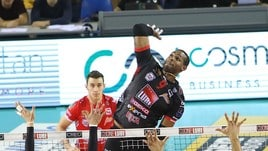 Volley: Superlega, Civitanova vince l'anticipo con Siena