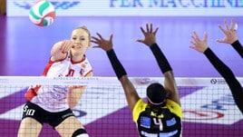 Volley: A1 Femminile, Conegliano a valanga, Casalmaggiore al comando
