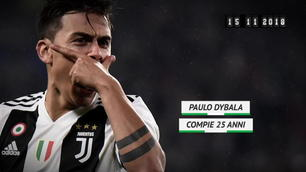 Born this day - Dybala compie 25 anni