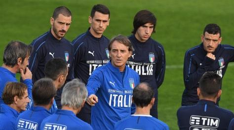 Nations League, Mancini: «Voglio un'Italia all'attacco»