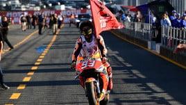 MotoGp, Valencia: Marquez, è tappeto rosso anche in quota