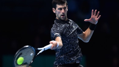 Tennis, ATP Finals: Djokovic, quota da grande contro Cilic