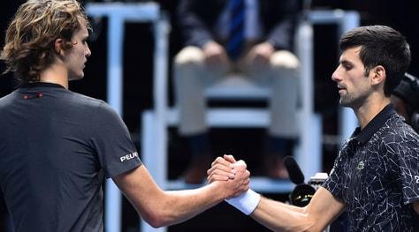 Atp Finals noiose, il pubblico fischia. Djokovic e Zverev:«Siamo esausti»
