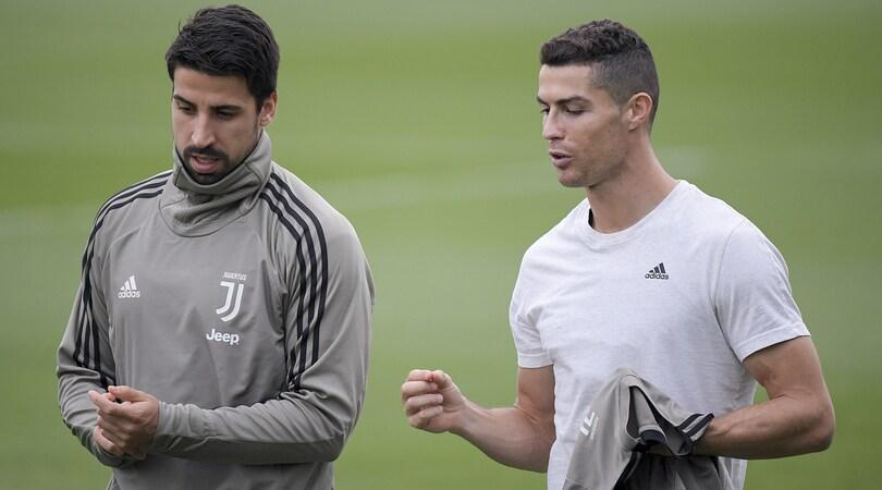 Juventus in campo, CR7: «Si torna in pista». Assenti Mandzukic e Bernardeschi