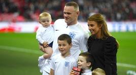 Rooney in campo con la famiglia per l'ultima con l'Inghilterra