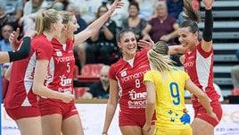 Volley: A1 Femminile, Busto vince a Chieri e vola in testa
