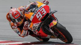 Moto: 1/e libere Valencia a Marquez
