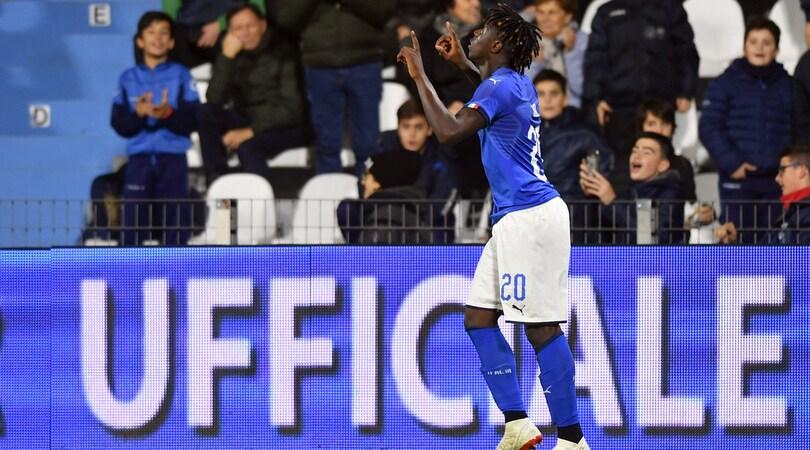 Kean: «Non so se resto, decide la Juventus»
