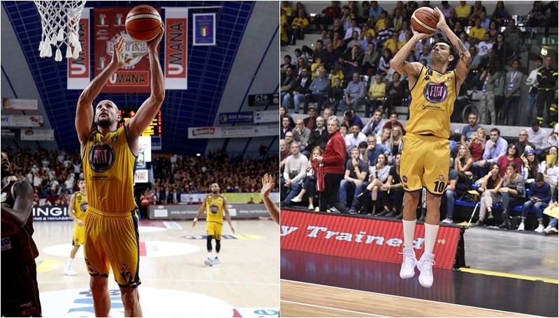 Basket, Fiat Torino: l'obiettivo è recuperare Delfino e Cusin