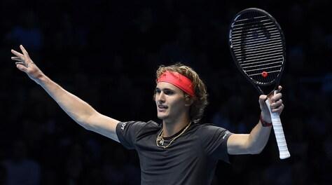 Tennis, Atp Finals: Zverev in semifinale