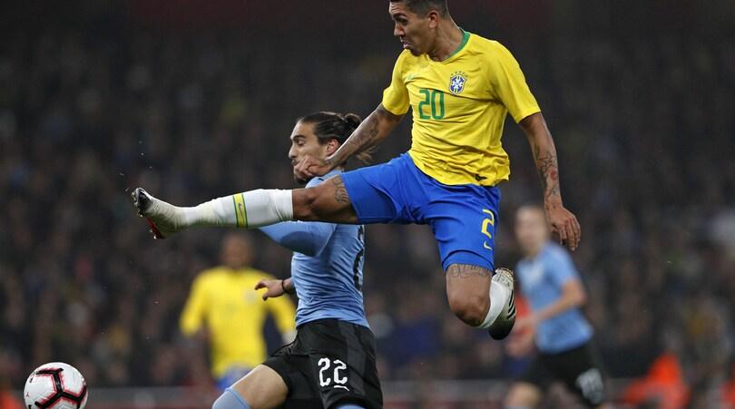 Brasile-Uruguay 1-0: il gol di Neymar su rigore