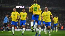 Brasile-Uruguay 1-0: segna Neymar su rigore
