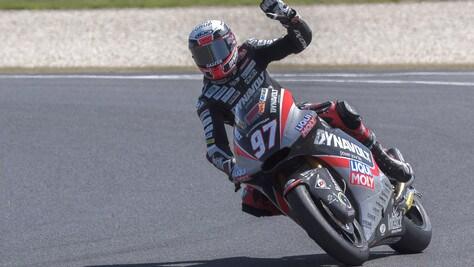 Moto2 Valencia, Vierge in testa nelle ultime libere