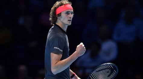 Atp Finals, Federer ko: Zverev primo finalista