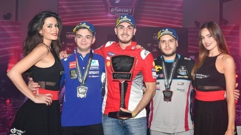 Lorenzo Daretti nella storia del MotoGP eSport Championship
