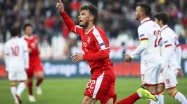 Ljajic avvicina la Serbia alla Serie B: 2-1 al Montenegro