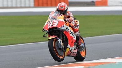 MotoGp, Valencia: la caduta non ferma Marquez, il trionfo a 2,50