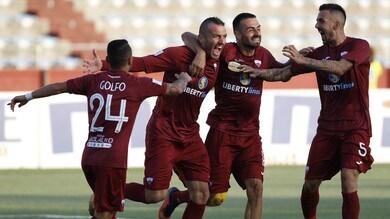 Serie C, tris Trapani alla Virtus Francavilla. Rende ancora primo: 1-0 alla Vibonese