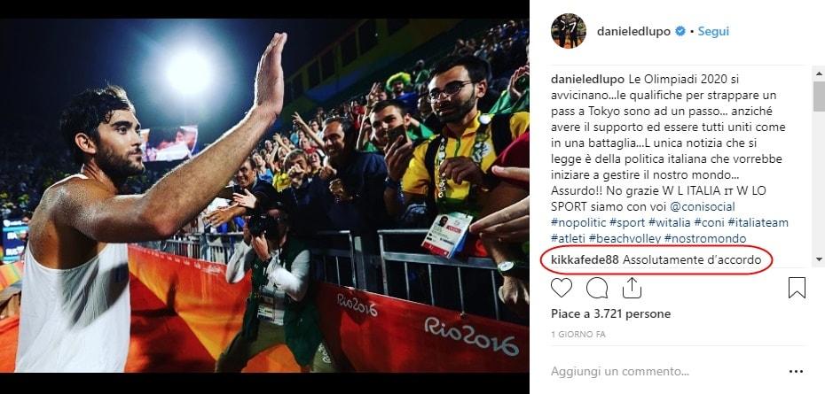 Coni: Lupo e Pellegrini:«No alla politica nello sport»