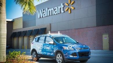 Ford, Walmart e Postmates: consegne a guida autonoma