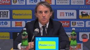 """Mancini: """"Verratti fortissimo e Barella fenomenale"""""""