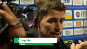 "Jorginho: ""Continuiamo così. Che emozioni a San Siro"""