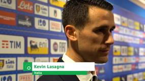 "Lasagna: ""L'Italia? Farò del mio meglio, voglio meritarmela"""