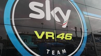 Esclusiva: nell'hospitality dello Sky Racing Team VR46
