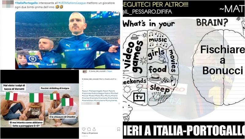 L'Italia domina, ma è ancora 0-0: le reazioni dei social