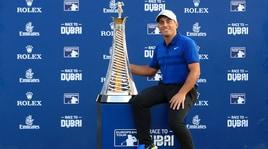 Golf, Race to Dubai: trionfa Molinari, è il primo italiano nella storia