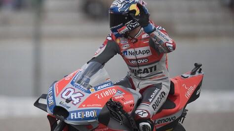 MotoGp Valencia: vittoria per Dovizioso, Rossi scivola ed è 13esimo