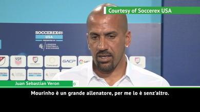 """Veron: """"Mourinho grande allenatore, ma gli serve tempo"""""""