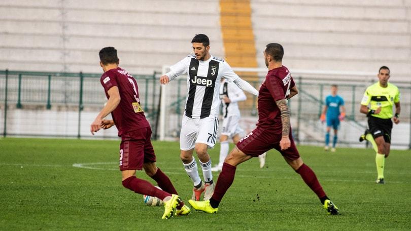 Serie C, Juventus U23 rimontata dal Pontedera: 1-2. Pistoiese-Piacenza 2-0