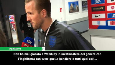 """Kane: """"Mai vista un'atmosfera così a Wembley"""""""