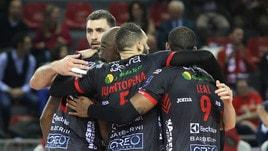 Volley: Superlega, Civitanova vince la battaglia di Modena