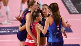 Volley: A1 Femminile, Scandicci abbatte la Pomì, Conegliano doma Chieri
